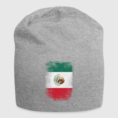 Mexiko-Flagge Proud Mexican Vintage Distressed - Jersey-Beanie