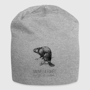 Saves the forest, eat a beaver! - Jersey Beanie