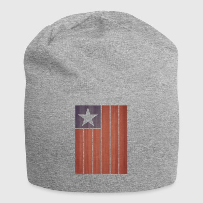 American Flag - Jersey Beanie