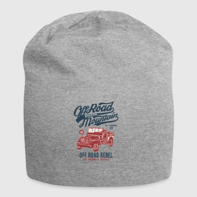 OFF ROAD JEEP - Jeep Shirt Motif - Jersey Beanie