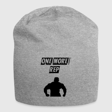 one more rep - Jersey Beanie