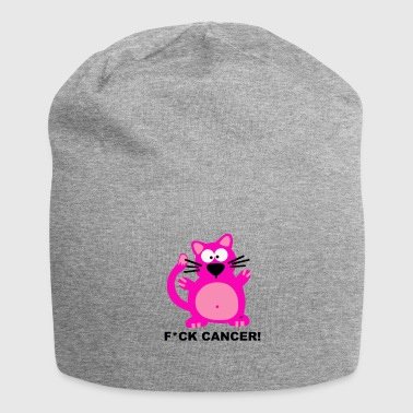 Fuck Cancer Katze Brustkrebs Krebs Fight T-Shirt T - Jersey-Beanie