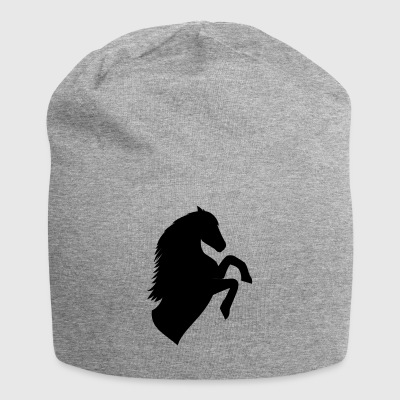 Horse Silhouette - Beanie in jersey