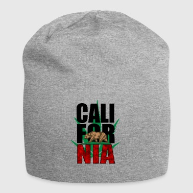 California - Beanie in jersey