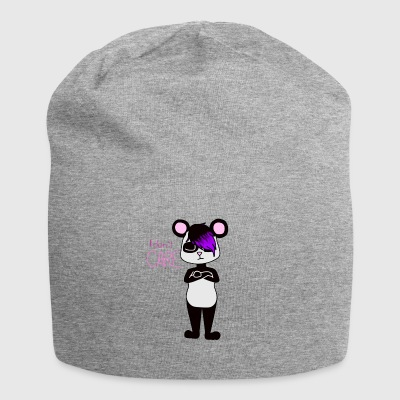 Panda I dont care - Jersey-Beanie