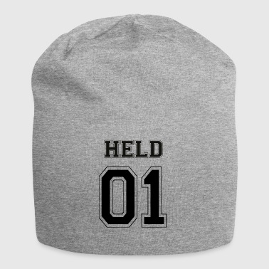 HERO 01 - Black Edition - Beanie in jersey
