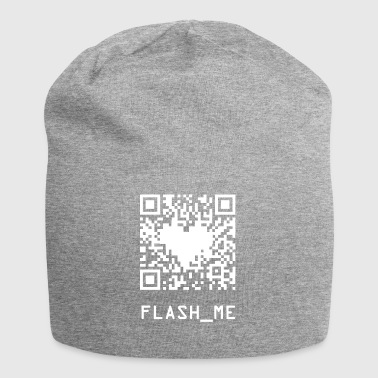 qrcode wite - Jersey Beanie