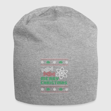 Funny Biology Shirt Merry Christmas - Jersey Beanie