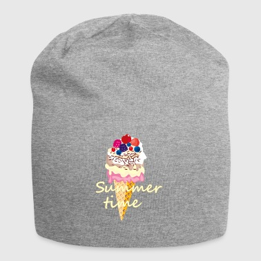 Summer time with fresh fruits and delicious ice cream - Jersey Beanie
