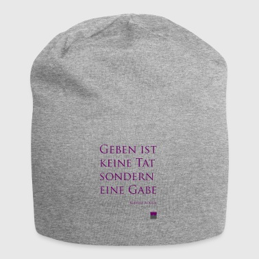 From giving - Jersey Beanie