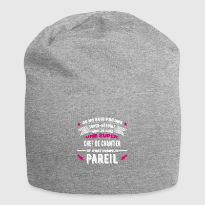SuperChef de chantier cadeau - Bonnet en jersey