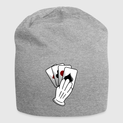 card player - Jersey Beanie