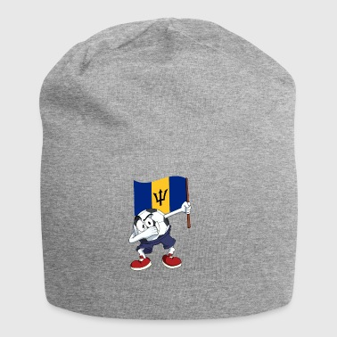 Barbados Dabbing Fussball - Jersey-Beanie