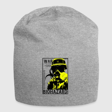Yellow biohazard Gas BSL4 - Jersey-Beanie