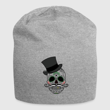 Skull with hat - Jersey Beanie