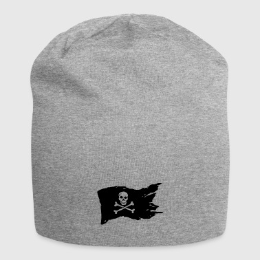 Piratenflagge - Jersey-Beanie