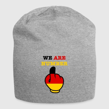 Germany Germany WE ARE NUMBER 1 - Jersey Beanie