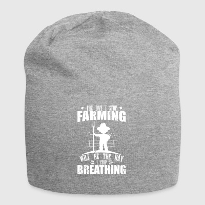The day i Stop Farming - Jersey Beanie