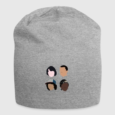 Stranger ting Mike - Dustin - Lucas - Eleven - Jersey-Beanie