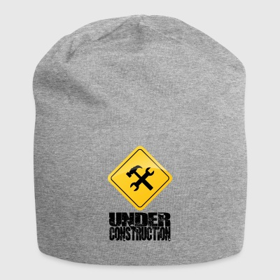 Under Construction - Bonnet en jersey