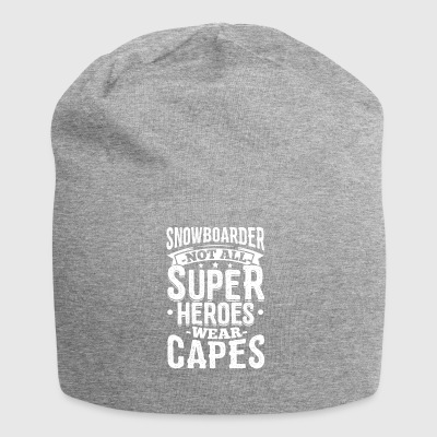 Funny Snowboard Snowboarding Shirt Superheroes - Jersey Beanie
