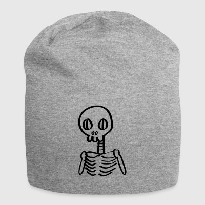 Skeleton Skeleton Cartoon Halloween - Jersey Beanie