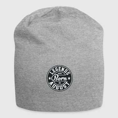 Legends August born birthday gift birth - Jersey Beanie
