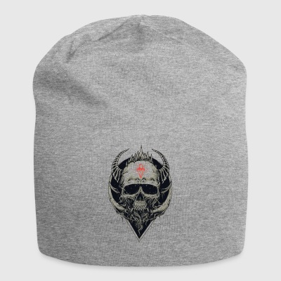Skull with diamond very noble - Jersey Beanie