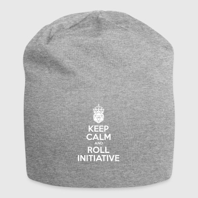 Keep calm and roll initiative - Dnd - Jersey Beanie