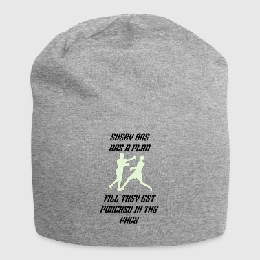 every one has a plan - Jersey Beanie