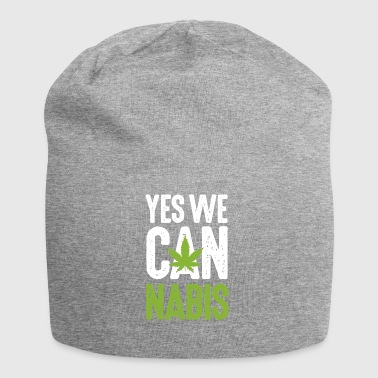 Yes we Cannabis Marihuana Hanf kiffen Legalize it! - Jersey-Beanie
