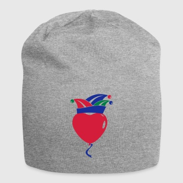 Fool Cap Heart Balloon 1, 2 or 3 colors 02 - Jersey Beanie