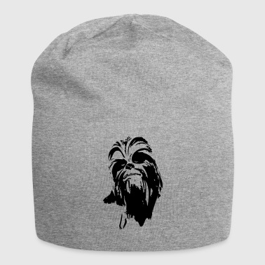 chewbacca monstre fourrure cheveux star ami barbe lase - Bonnet en jersey