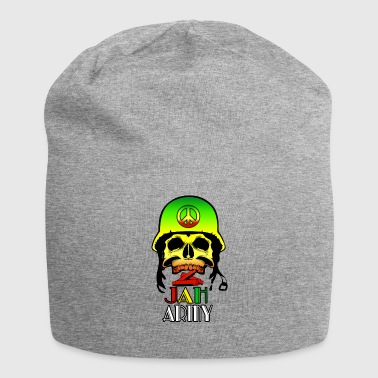 Jah Army Skull - Jersey Beanie