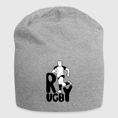 rugby player - Jersey Beanie