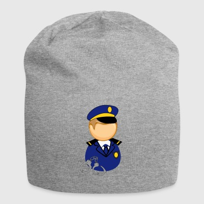 police officer - Jersey Beanie