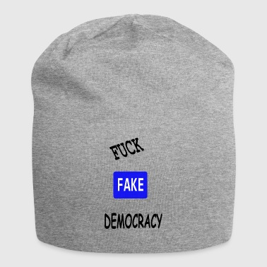 fake democracy - Jersey Beanie