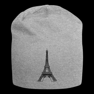 Eiffel Tower, Paris, France, landmark - Jersey Beanie