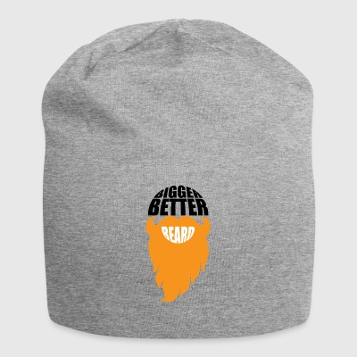 BIGGER BETTER BEARDS - Jersey Beanie