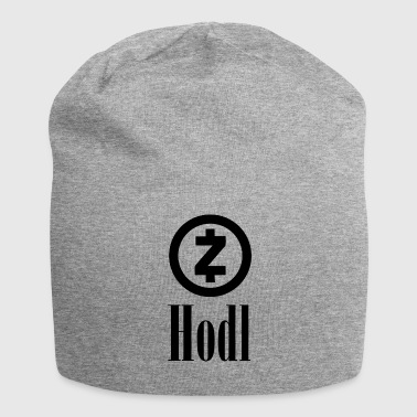 HODL ZCash Crypto currency | Crypto currency - Jersey Beanie