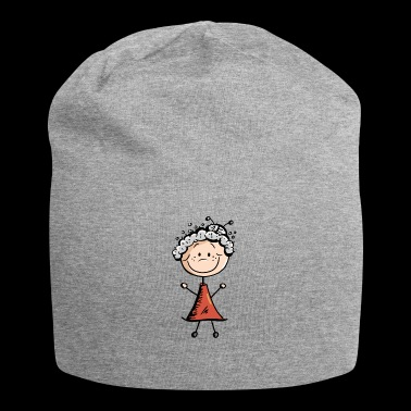Fit Granny - Pensioner - Omi - Gift - Jersey Beanie