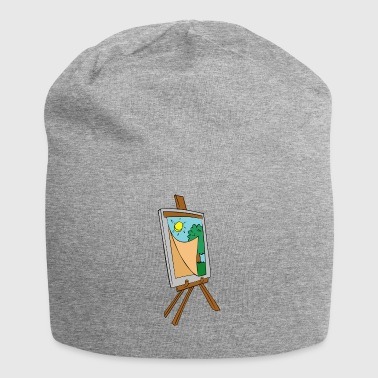 painting - Jersey Beanie