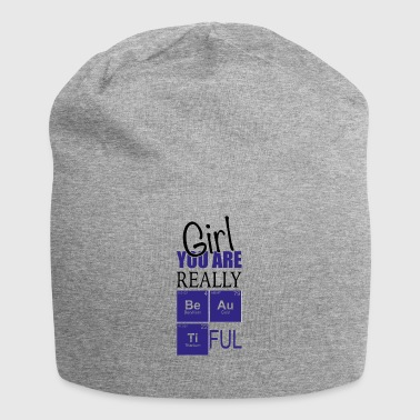 Chemistry girl you are really pretty - Jersey Beanie