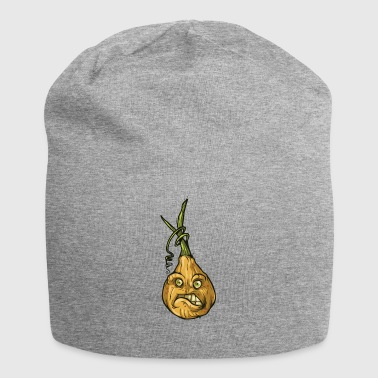Halloween Pumpkin - The Onion - Jersey Beanie