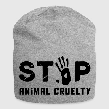 Stop for animal brutality - Jersey Beanie