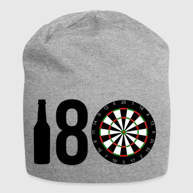 180 - Hundred and Eighty - Beer Bottle 8 Dartboard - Jersey Beanie