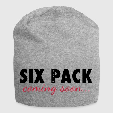 SIX PACK coming soon - Funny Workout Motivation - Jersey Beanie
