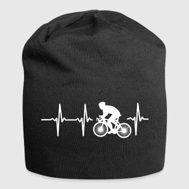MY HEART BEATS FOR CYCLING! - Jersey Beanie