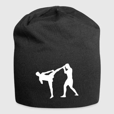 Kickboxing, Martial Arts - Beanie in jersey