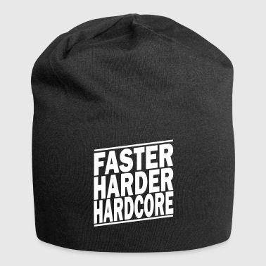 faster harder ii - Jersey-Beanie